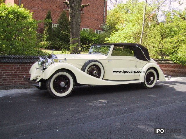 Rolls Royce  Phantom II 1931 Vintage, Classic and Old Cars photo
