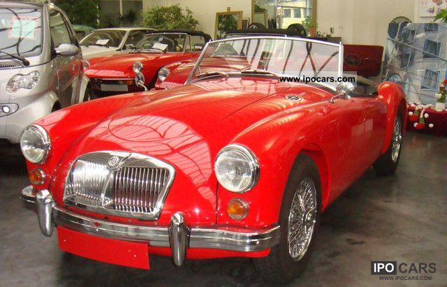 MG  1600 MKII (GB) 1960 Vintage, Classic and Old Cars photo
