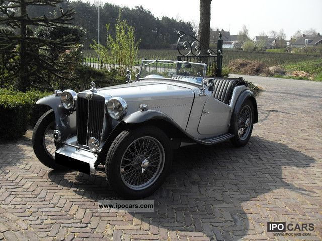 MG  TC 1946 Vintage, Classic and Old Cars photo