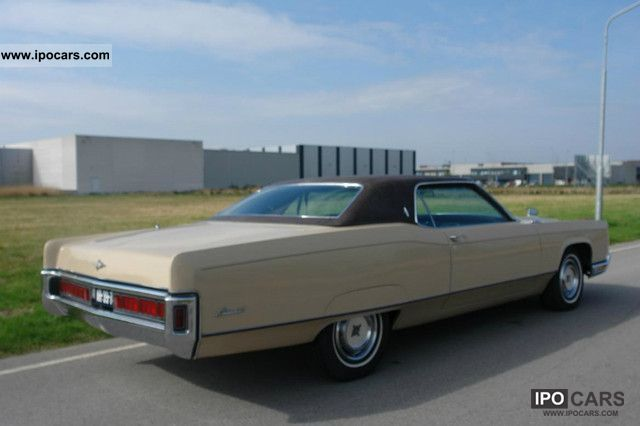 1971 Lincoln Continental Car and Specs