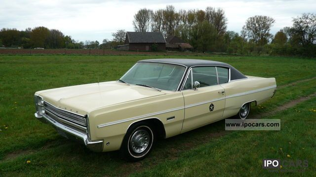 Plymouth  FURY III COUPE TUV-H NEW 1968 Vintage, Classic and Old Cars photo