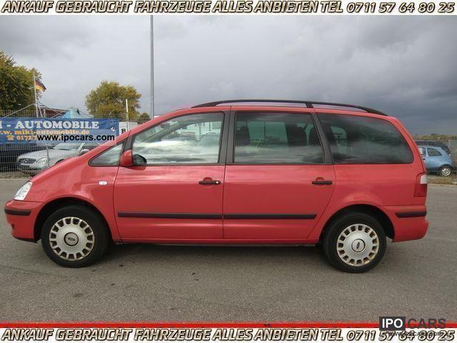 2002 Ford  Galaxy 1.9 TDI 6 speed ~ ~ € € ~ Cat-3 3 9 9 9, - € Van / Minibus Used vehicle photo