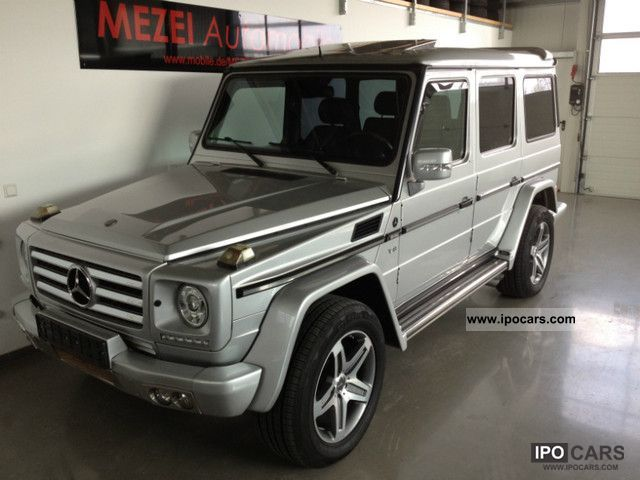 2002 Mercedes-Benz  * LOOK * G500Lang A_R_T 2011 * COMAND * 19 \ Off-road Vehicle/Pickup Truck Used vehicle photo