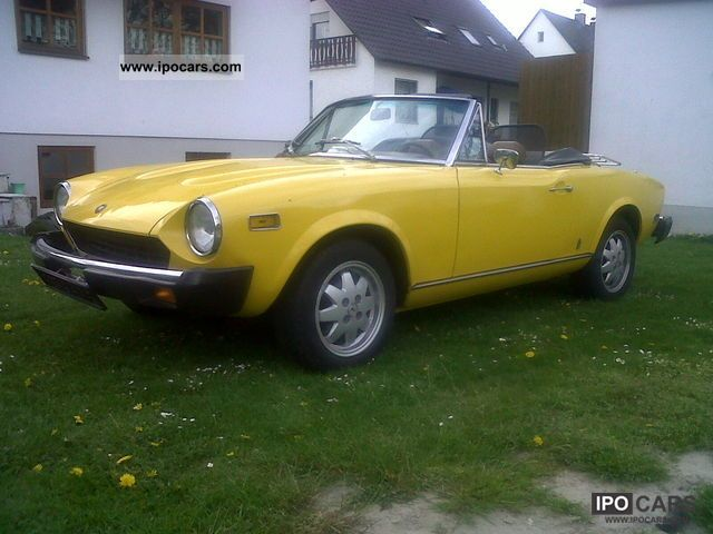 Fiat  124 Spider CS1, SR 78 1978 Vintage, Classic and Old Cars photo
