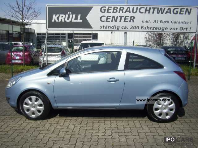 2008 opel corsa d 1 0 twinport edition car photo and specs. Black Bedroom Furniture Sets. Home Design Ideas