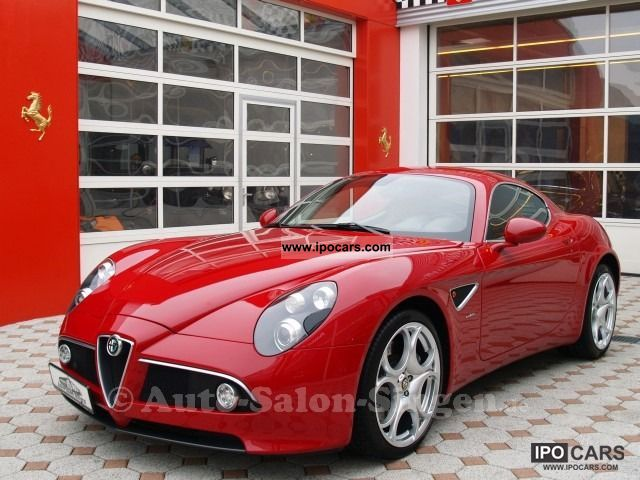 2012 Alfa Romeo  8C Competizione Alfarot Sports car/Coupe Used vehicle photo
