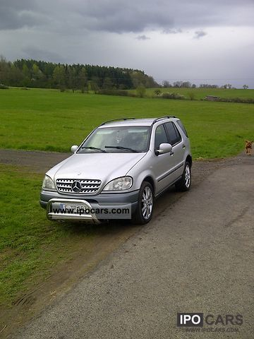 1998 mercedes benz ml 320 car photo and specs for Ml320 mercedes benz 1998