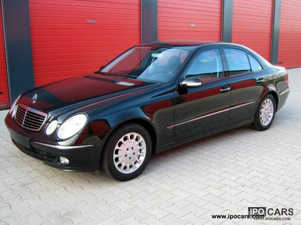 2002 mercedes-benz e 270 cdi avantgarde --- facilities --- full