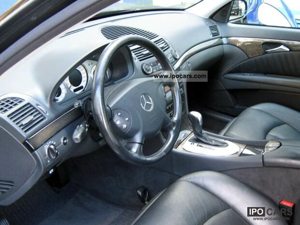 2002 mercedes benz e 270 cdi avantgarde facilities full car photo and specs. Black Bedroom Furniture Sets. Home Design Ideas