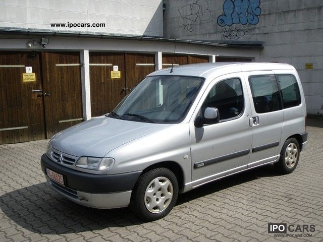 2002 citroen berlingo hdi 2 0 chrono car photo and specs. Black Bedroom Furniture Sets. Home Design Ideas