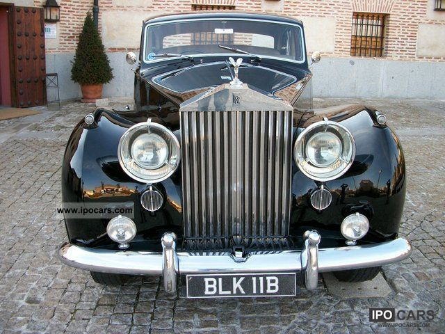 Rolls Royce  Silver Wraith Freestone & Webb 1957 Vintage, Classic and Old Cars photo