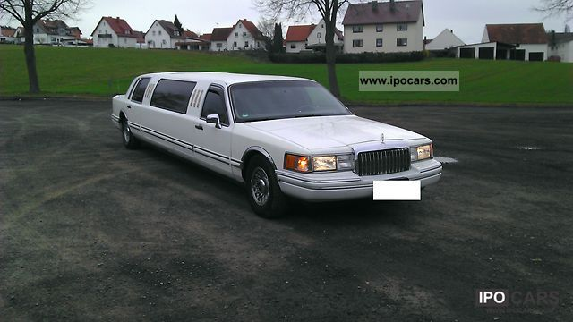 Lincoln  Stretch Limo 1993 Liquefied Petroleum Gas Cars (LPG, GPL, propane) photo