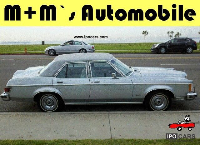 Lincoln  Versailles 5.8 very rare / collector condition 1977 Vintage, Classic and Old Cars photo