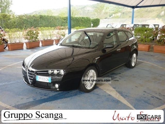 2009 Alfa Romeo  159 2.4 20v 210 CV JTDm SW Exclusive Estate Car Used vehicle photo