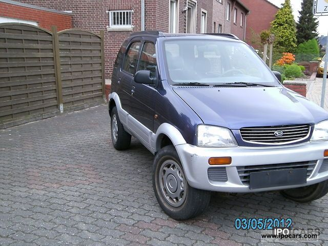 1997 daihatsu terios car photo and specs. Black Bedroom Furniture Sets. Home Design Ideas