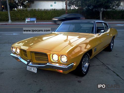 Pontiac  Le Mans 1971 Vintage, Classic and Old Cars photo