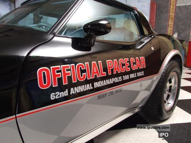 Corvette  Official Pace Car C3 / Limited Edition 1978 Vintage, Classic and Old Cars photo