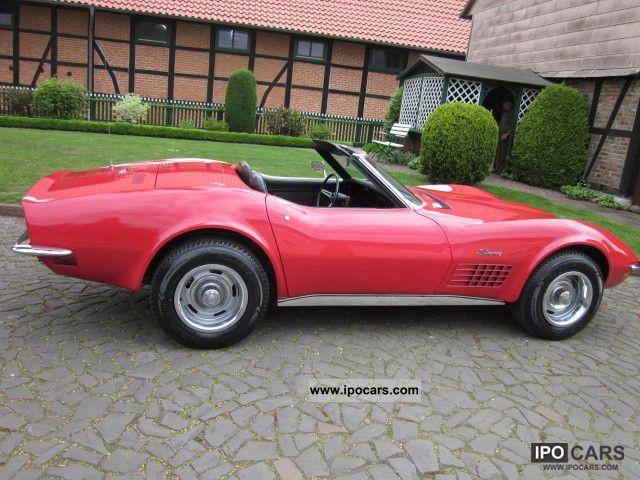 Corvette C Convertible Chrome Bumper Collectible H Plates Lgw