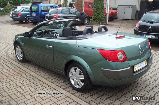 2005 renault megane 1 9 dci dynamique coupe cabriolet first hand car photo and specs. Black Bedroom Furniture Sets. Home Design Ideas