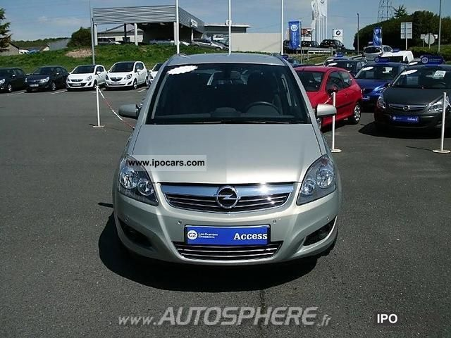 2009 opel zafira 1 9 cdti120 fap magnetic car photo and specs. Black Bedroom Furniture Sets. Home Design Ideas