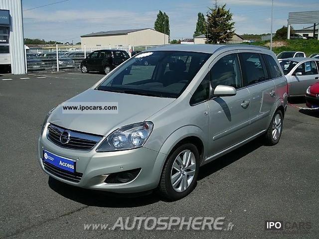 2009 Opel  Zafira 1.9 CDTI120 FAP Magnetic Limousine Used vehicle photo
