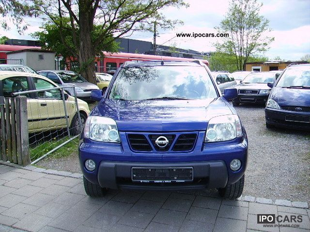 2001 nissan x trail 2 0 4x4 comfort mod 2002 air tronic car photo and specs. Black Bedroom Furniture Sets. Home Design Ideas