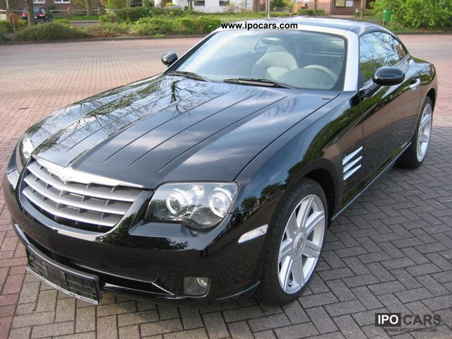2007 Chrysler Crossfire Auto Navi Leather Attention Value System Sports Car Coupe