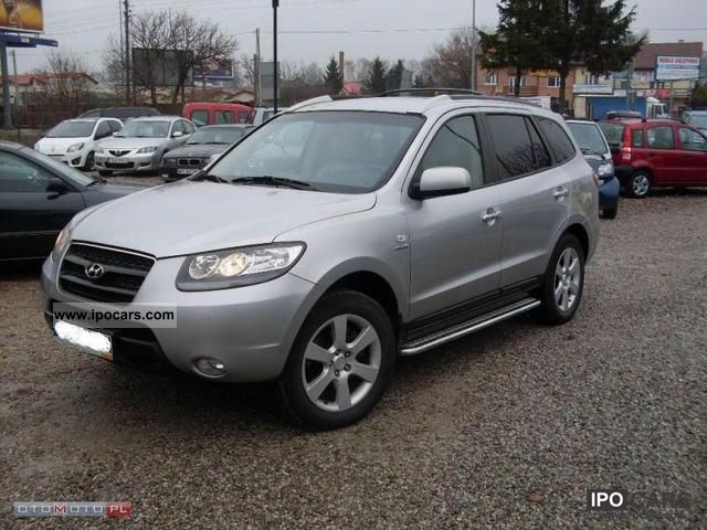 2007 hyundai santa fe 2 2 crdi salon polska car photo and specs. Black Bedroom Furniture Sets. Home Design Ideas