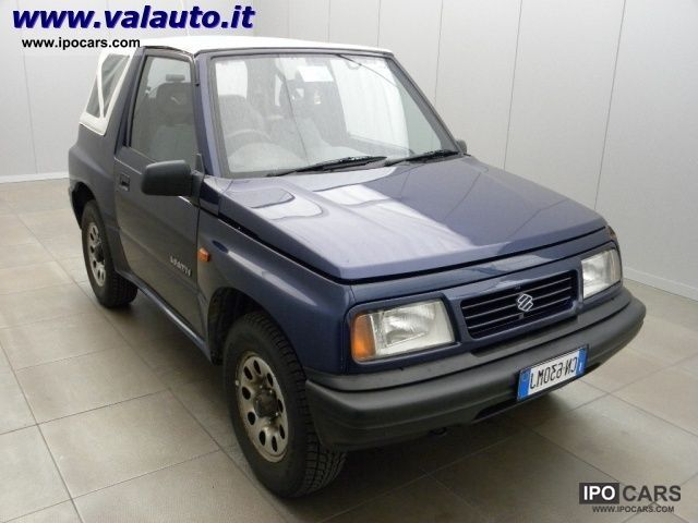 Suzuki  Vitara 1.6i Convertible JX CV80 Impianto GPL superpr 2001 Liquefied Petroleum Gas Cars (LPG, GPL, propane) photo