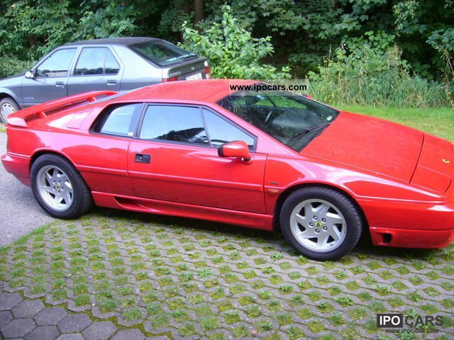 1992 lotus esprit se car photo and specs. Black Bedroom Furniture Sets. Home Design Ideas