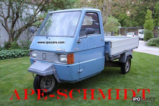 1986 Piaggio  TM 703 aluminum side panels Other Used vehicle photo