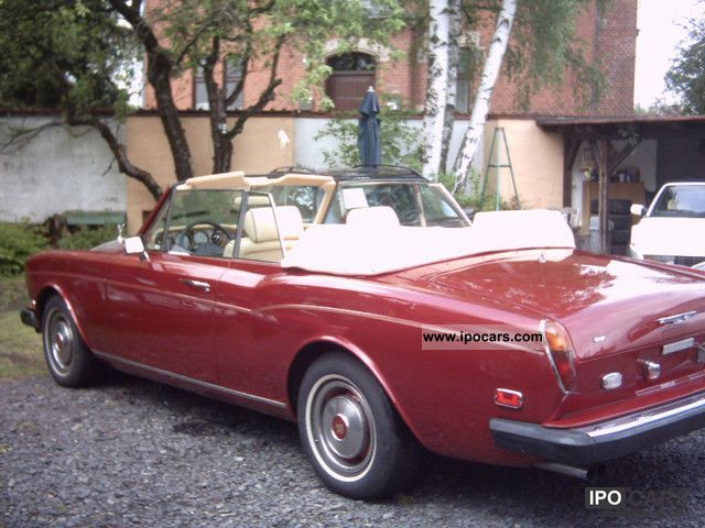 Rolls Royce  Convertible, left hand drive, like new 1978 Vintage, Classic and Old Cars photo