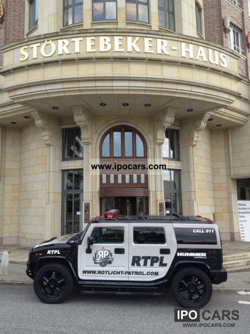 2007 Hummer  H2 EUROPE SPECIAL SPORT EXHAUST CONVERSION LPG 24in Off-road Vehicle/Pickup Truck Used vehicle photo