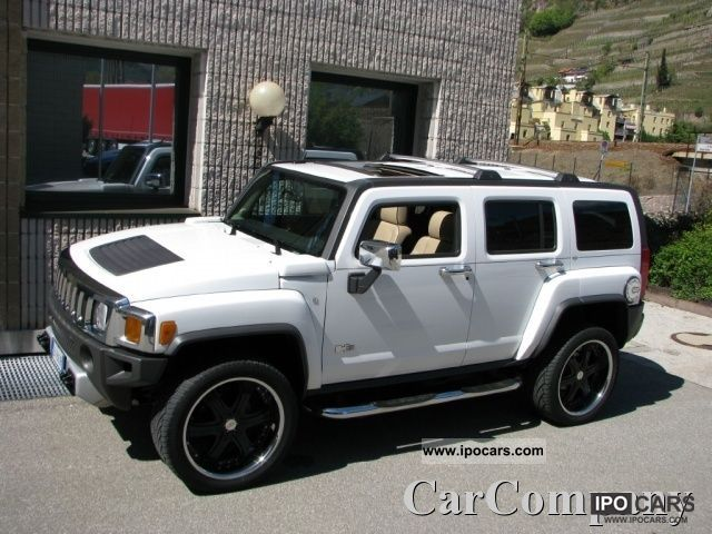 Hummer  H3 ALPHA GPL 5.3 V8 4x4 AUT. NAVI DVD 305/40R22 2008 Liquefied Petroleum Gas Cars (LPG, GPL, propane) photo