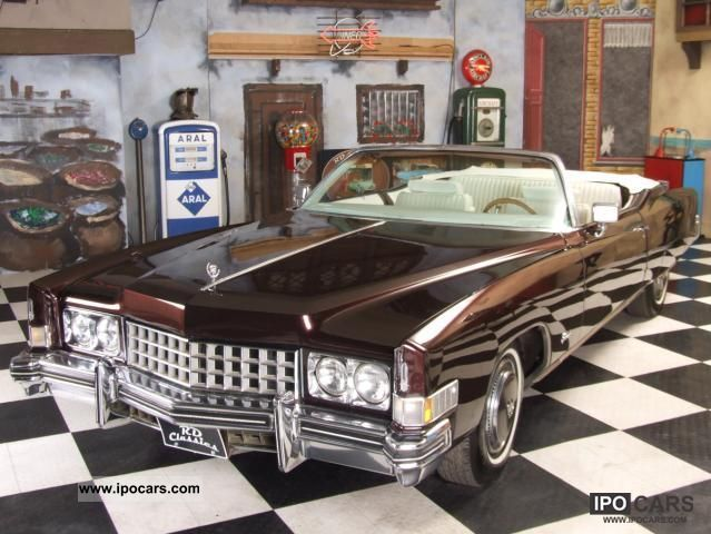 Cadillac  Eldorado 1973 Vintage, Classic and Old Cars photo