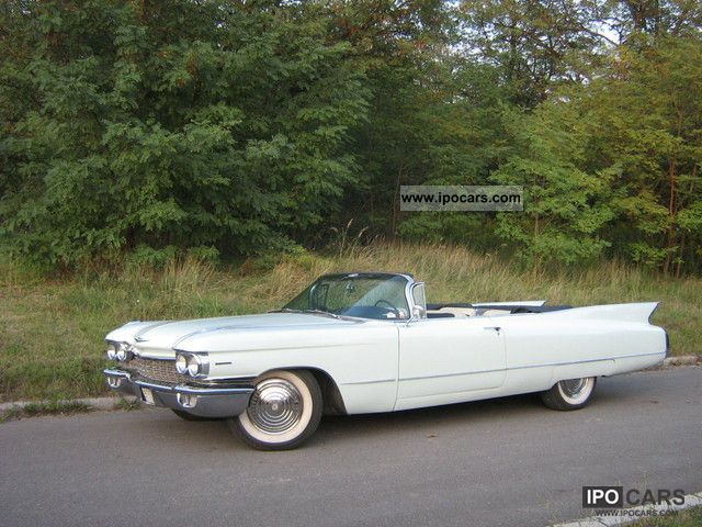 Cadillac  Convertible 1960 Vintage, Classic and Old Cars photo