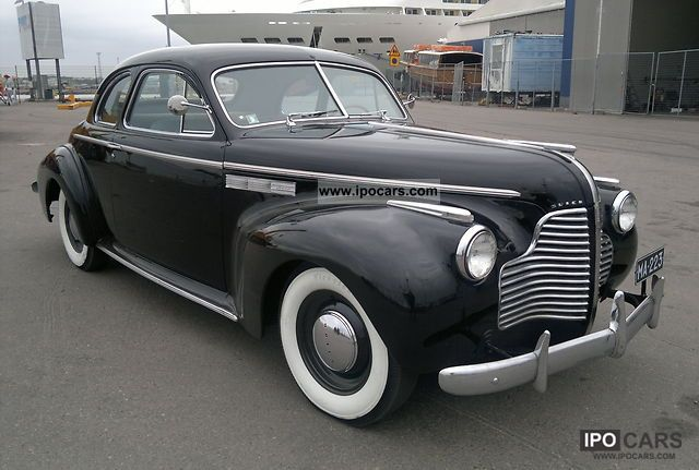 Buick  Super Sport Coupe 1940 Vintage, Classic and Old Cars photo