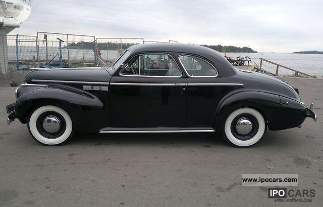 Buick Super Sport 1940 Buick Super Sport Coupe