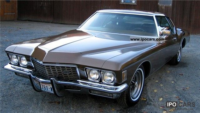 ... Buick Riviera Boattail Sunroof H Approval 1972 Classic Vehicle Photo