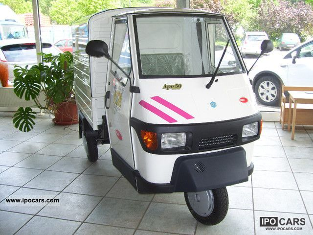 2012 Piaggio  APE box Other Used vehicle photo
