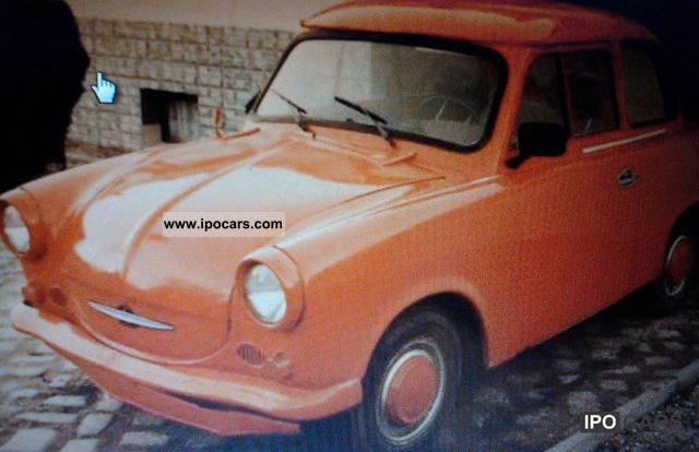Trabant  500 1963 Vintage, Classic and Old Cars photo