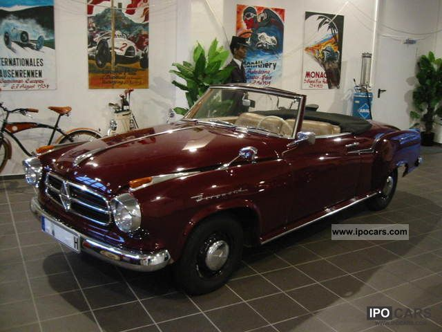 Borgward  Isabella coupe cabriolet 1960 Vintage, Classic and Old Cars photo