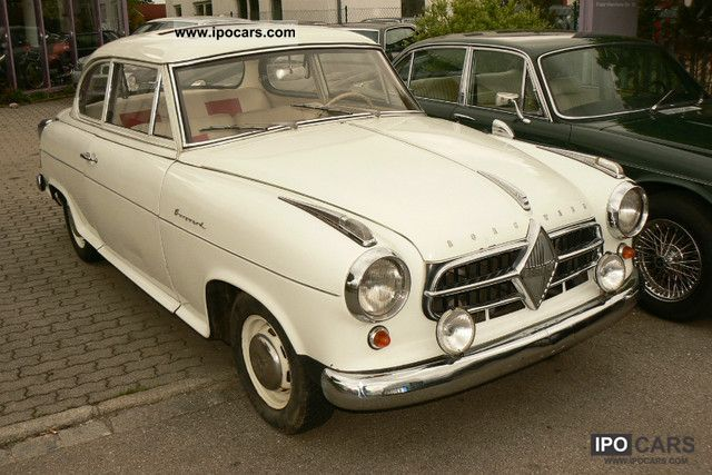 Borgward  Isabella TS '56 Sunroof! VAT! 1956 Vintage, Classic and Old Cars photo