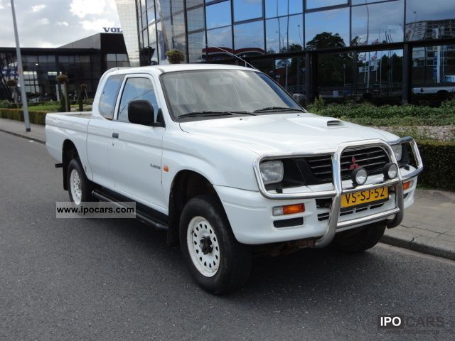 1997 mitsubishi gl l200 pick up car photo and specs. Black Bedroom Furniture Sets. Home Design Ideas