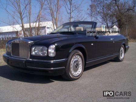 1999 Rolls Royce  Corniche 5 Cabrio / roadster Used vehicle photo