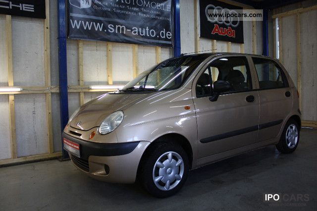 2005 Chevrolet  Matiz 1.0 AIR CHECKBOOK 1.HAND Small Car Used vehicle photo