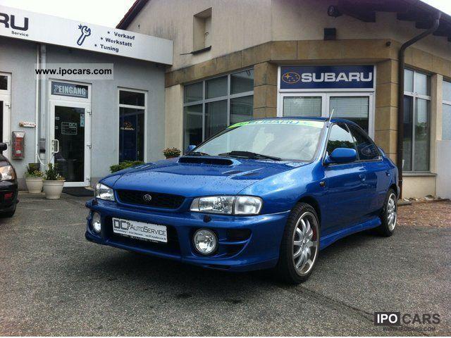 2000 Subaru Impreza 20 GT Turbo