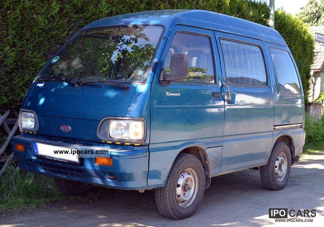 2002 Asia Motors Minibus Van / Minibus