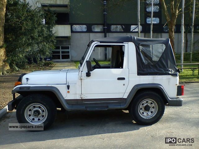 1995 Asia Motors  Rocsta softtop Off-road Vehicle/Pickup Truck Used vehicle photo
