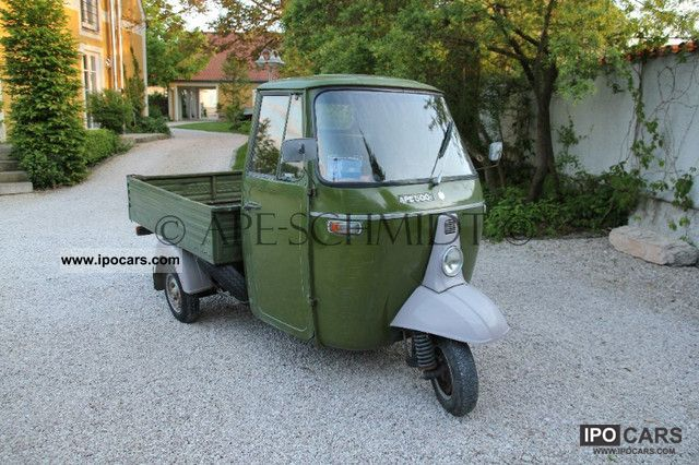 Piaggio  MPR 500 1974 Vintage, Classic and Old Cars photo